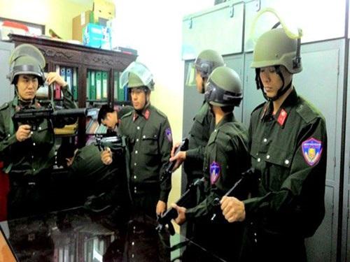 Lực lượng Cảnh sát hình sự đặc nhiệm, Phòng CSHS - CATP Hà Nội trước giờ lên đường làm nhiệm vụ