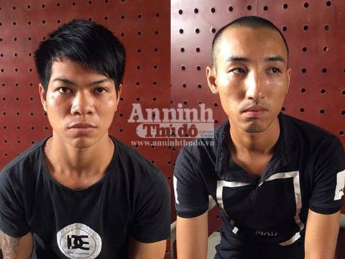 Cơ quan CSĐT, CAH Thanh Oai đã ra quyết định khởi tố bị can, bắt tạm giam Tuấn và Mẫn để điều tra về tội Cướp giật tài sản