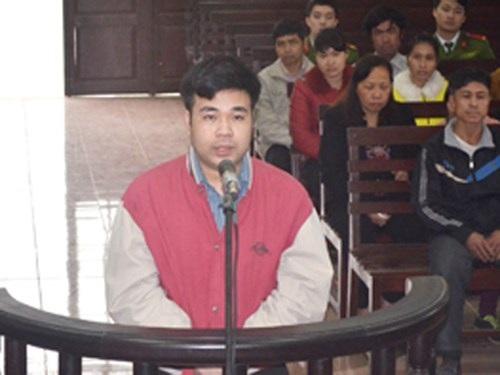 Đối tượng  Nguyễn Bá Hồng phải nhận mức án 13 năm tù