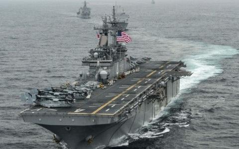 Hải quân Mỹ. Ảnh: internet.
