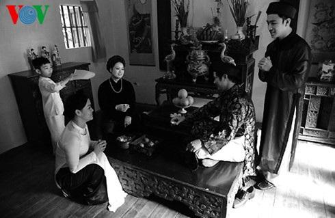 Người Hà Nội xưa luôn chỉn chu, lễ độ trong giao tiếp.