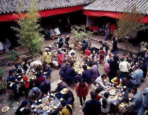 Tiệc tùng là một phần không thể thiếu của văn hóa Trung Quốc. (Nguồn: CCTV)