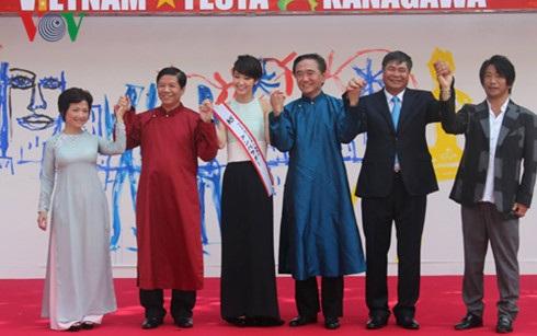 Lễ hội Việt Nam tại Kanagawa 2015 vốn đã tạo ấn tượng tốt cho người dân Nhật Bản.