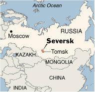 Thành phố Seversk của Nga