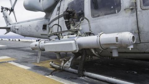 Intrepid Tiger II được lắp đặt trên trực thăng UH-1Y. Ảnh: IHS Janes 360