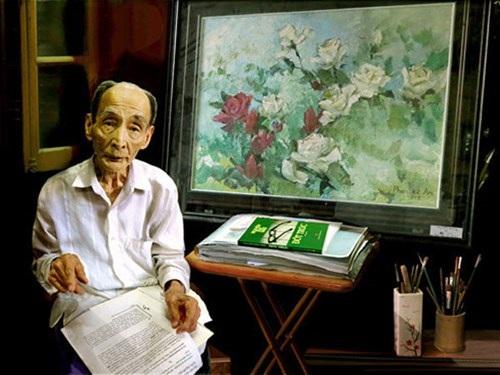 "Bức ảnh ""Họa sỹ Phan Kế An"""