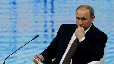 Tổng thống Putin công nhận Mỹ là siêu cường duy nhất trên thế giới hiện nay. Ảnh: Reuters
