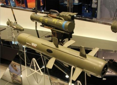 Tên lửa chống tăng MMP.