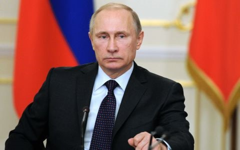 Tổng thống Nga Vladimir Putin. (Ảnh Reuters).