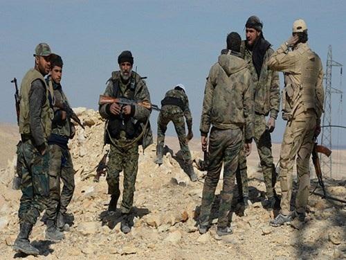 Quân đội chính phủ Syria và lực lượng dân quân