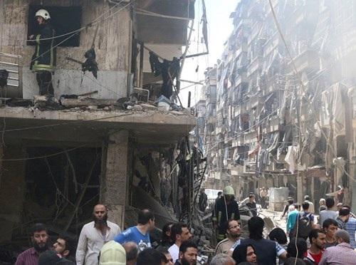 Aleppo giờ là tâm điểm của nội chiến Syria