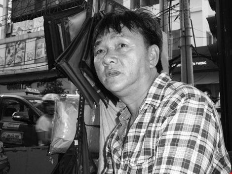 Anh Nguyễn Văn Nam. Ảnh: NGUYỄN TRÀ.