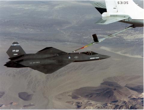 Mỹ thử nghiệm tiêm kích YF-23.