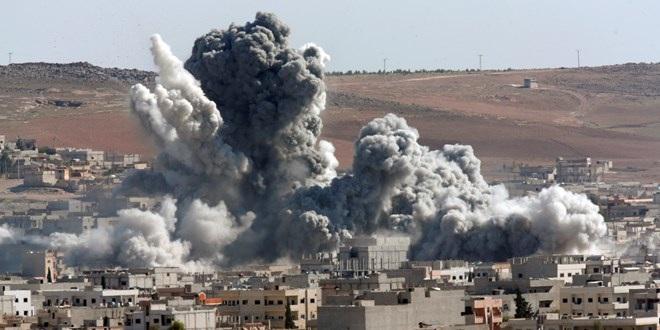 Theo nguồn tin từ Syria, máy bay quân đội Nga và Syria đã tăng cường không kích Aleppo (Nguồn: Reuters)