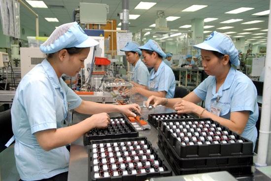 Công nhân làm việc tại Công ty TNHH Mabuchi Motor Việt Nam, KCN Biên Hòa 2, Đồng Nai. Ảnh: Kinh tế đô thị