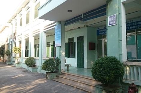 Hành lang Khoa H Bệnh viện Tâm thần Hà Nội - nơi chứng kiến nhiều pha quậy tưng bừng của con nghiện đá.