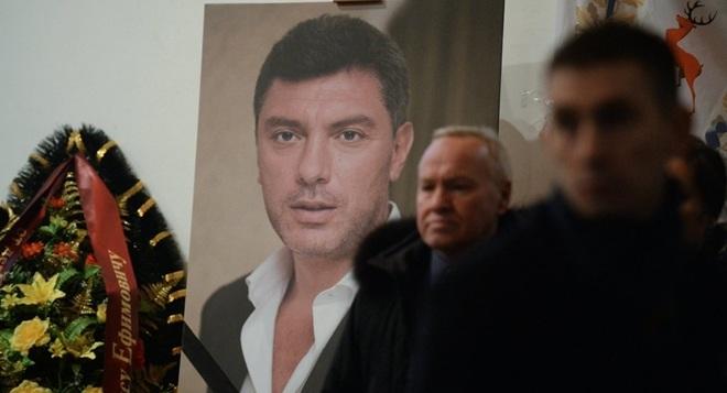 Lễ tang ông Nemtsov