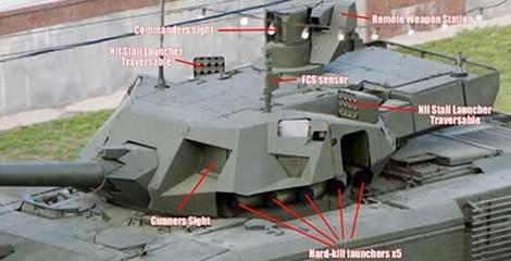 """Nga làm đối thủ sửng sốt khi thử nghiệm xe tăng Armata """"vô hình"""" - 1"""