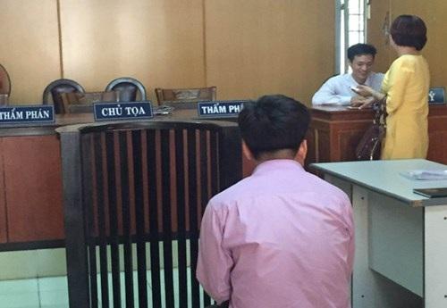 Bị cáo Cao Minh Đức tại tòa