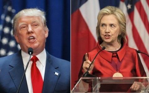 Dù giành thắng lợi có tính quyết định trong ngày Siêu Thứ Ba, cả ông Trump và bà Clinton vẫn chưa thể hoàn toàn tự tin vào chiến thắng cuối cùng để trở thành ứng viên Tổng thống của đảng mình. Ảnh AFP