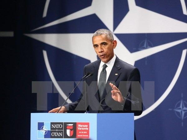 Obama: Đồng minh châu Âu lúc nào cũng có thể trông cậy vào Mỹ - 1