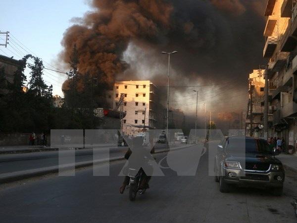 Quân chính phủ Syria tiêu diệt gần 30 phần tử nổi dậy ở Aleppo - 1
