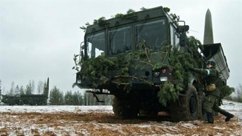 Nga diễn tập với tên lửa Iskander-M.
