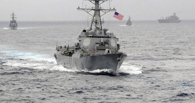 Mỹ đã cam kết thực hiện các chiến dịch tự do đi lại trên Biển Đông một cách thường kỳ. (Ảnh: ST)