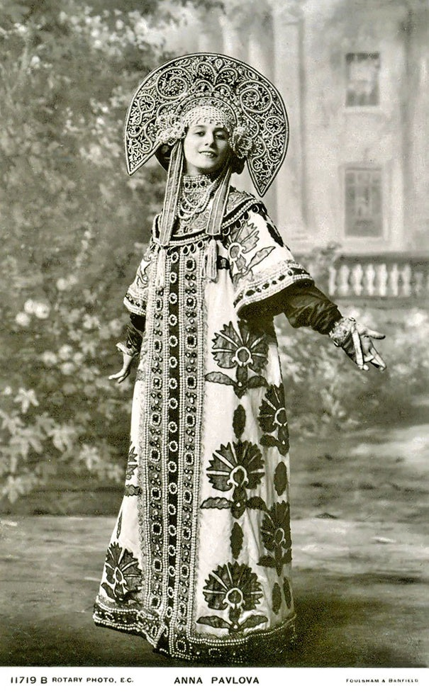 Nữ vũ công người Nga