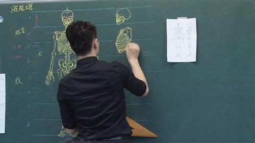 """Dân mạng """"phát cuồng"""" với thầy giáo đẹp trai, vẽ đẹp - 6"""