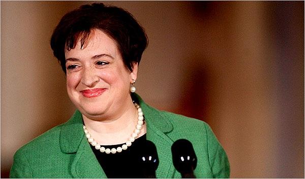 Thẩm phán Tòa án Tối cao Mỹ Elena Kagan