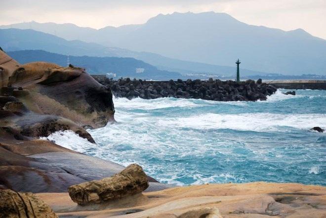 Bán đảo Yehliu, bờ biển phía Bắc Đài Loan. (Nguồn: NatGeo)