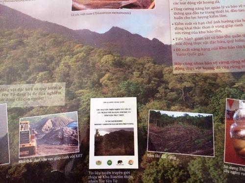 Tuyên truyền bảo vệ rừng tại tỉnh Bắc Giang.