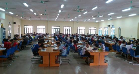 Thư viện đa chức năng được xây dựng với quy mô lớn.