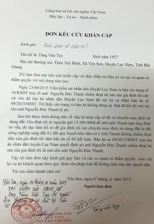 Hoãn phiên toà xét xử vụ bị hại đồng loạt viết đơn kêu oan cho bị cáo tại Bắc Giang - 2