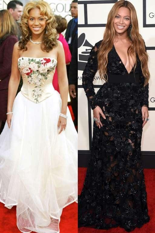 Beyonces Knowles ngày càng đẹp và đằm thắm. Kiểu tóc dài xoăn nhẹ buông hờ luôn là lựa chọn thông minh nhất với cô.