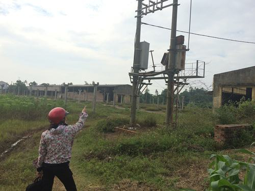 Nhà máy gạch An Đạo tại huyện Phù Ninh của Cty Kính Đạt đã được đầu tư nhiều tỷ đồng gần như bị bỏ hoang sau giám đốc bị giam hơn 2 năm.