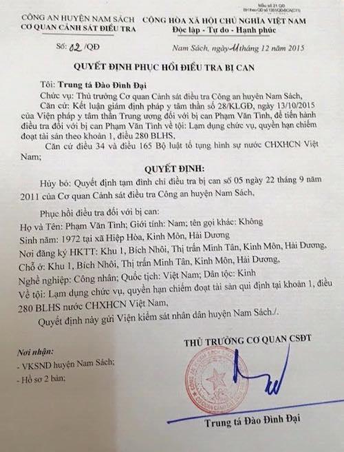 """Điểm mặt những cán bộ """"góp tên"""" trong vụ khởi tố dân tội Lạm quyền tại Hải Dương - 6"""