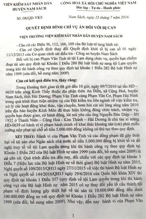 """Thái Bình: Một người dân thường bị kết tội """"Làm giả tài liệu cơ quan nhà nước, tổ chức"""" - 5"""
