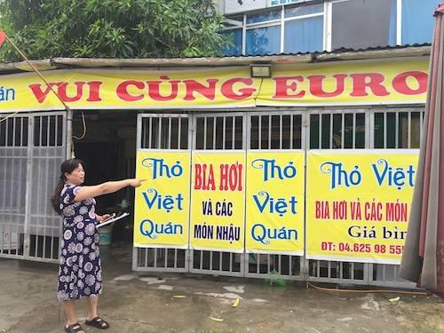 Khu đất của gia đình bà Hằng sẽ bị cưỡng chế vào ngày 1/8 ngay sát mặt Đại lộ Thăng Long.