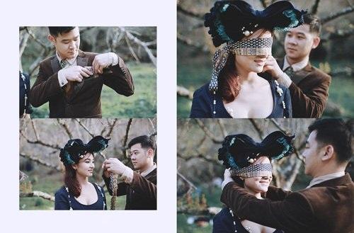 """Bộ ảnh cưới ở """"xứ sở thần tiên"""" của cặp đôi Hà thành - 14"""