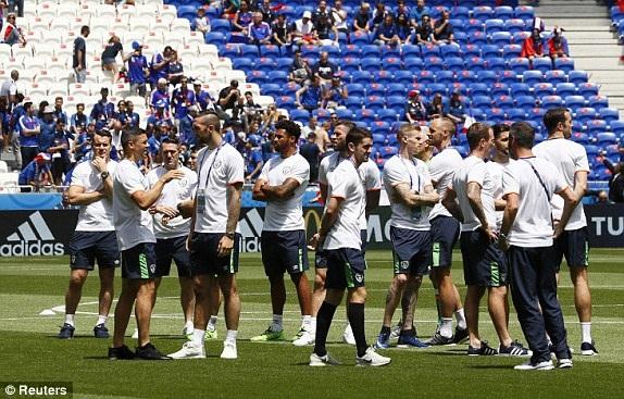 Ireland quyết tâm làm nên bất ngờ tại Stade de Lyon