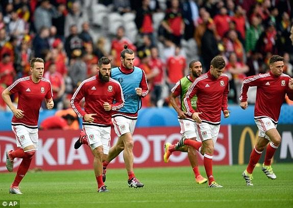 Xứ Wales quyết làm nên bất ngờ ở trận tứ kết Euro 2016