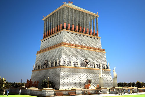 5. Lăng mộ Mausolus (Thổ Nhĩ Kỳ).