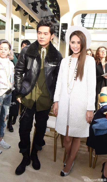Đây là lần đầu tiên hai vợ chồng ngôi sao xứ Đài cùng tham dự một sự kiện kể từ khi họ tổ chức đám cưới vào đầu năm ngoái 2015.