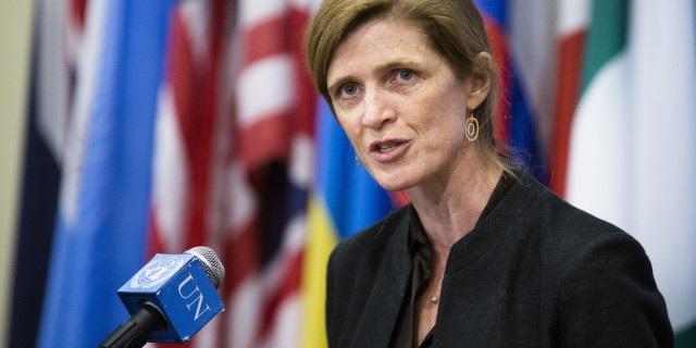 Đại sứ Mỹ tại Liên hợp quốc Samantha Power