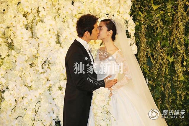 Kỷ niệm 1 năm ngày cưới, Huỳnh Hiểu Minh - Angelababy hò hẹn như tình nhân - 9