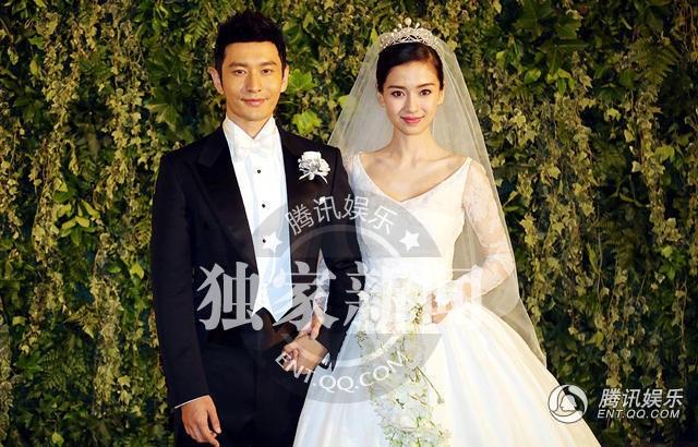 Đám cưới diễn ra vào tháng 10/2015 của Huỳnh Hiểu Minh và Angelababy đã tiêu tốn khá nhiều giấy mực của truyền thông Trung Quốc.