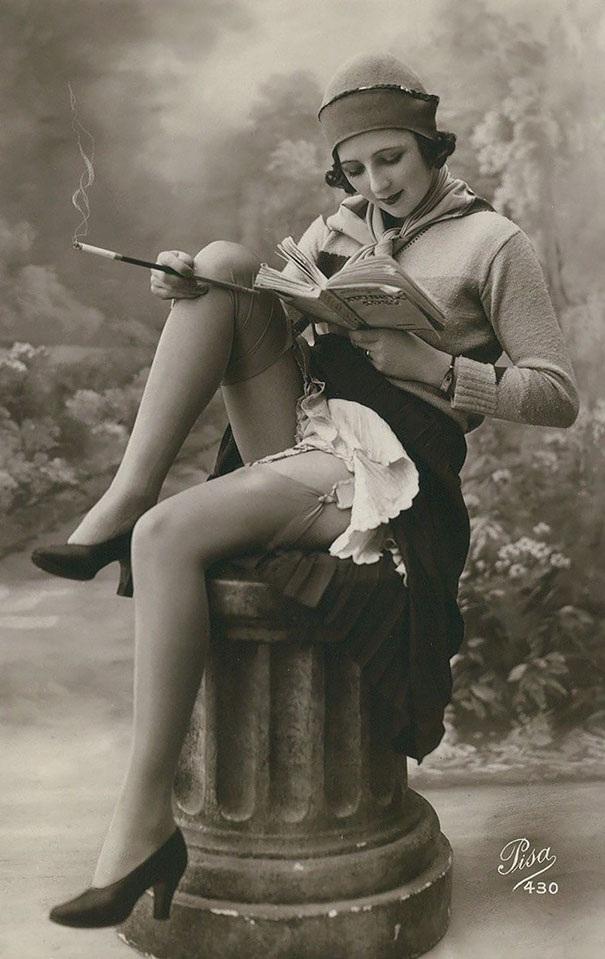 Vẻ đẹp phụ nữ 100 năm trước qua những tấm hình vintage - 12