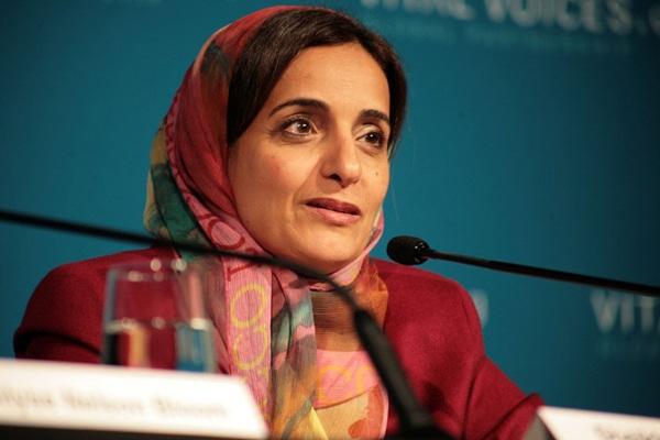 Bộ trưởng Phát triển và Hợp tác quốc tế của Các tiểu vương quốc Ả-rập thống nhất, bà Sheikha Lubna Al Qasimi